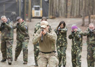 Team Building Airsoft in Raleigh