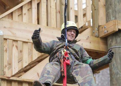 Durham ziplining