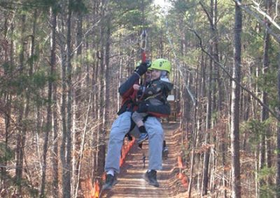 family ziplining in Raleigh