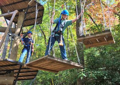 ropes courses at xtreme park adventure
