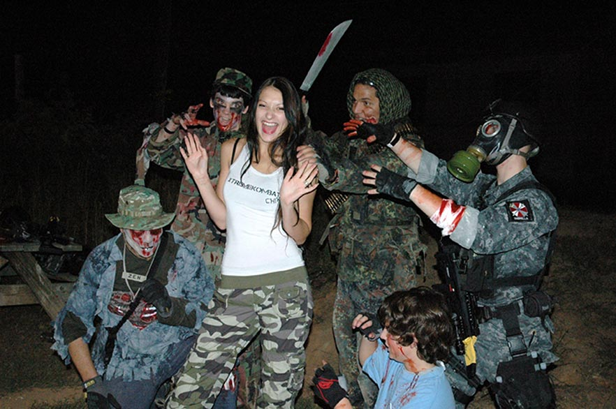 Xtreme Haunt  Zombie Paintball Experience in Raleigh-Durham