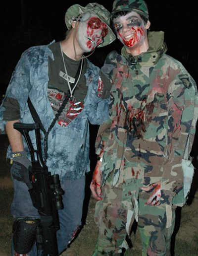 zombie paintball in Raleigh-Durham