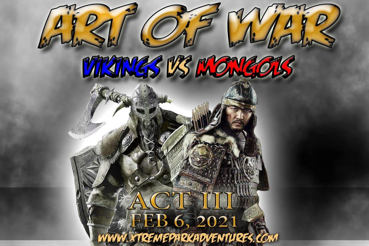 Art of War - Vikings vs Mongols Paintball Event