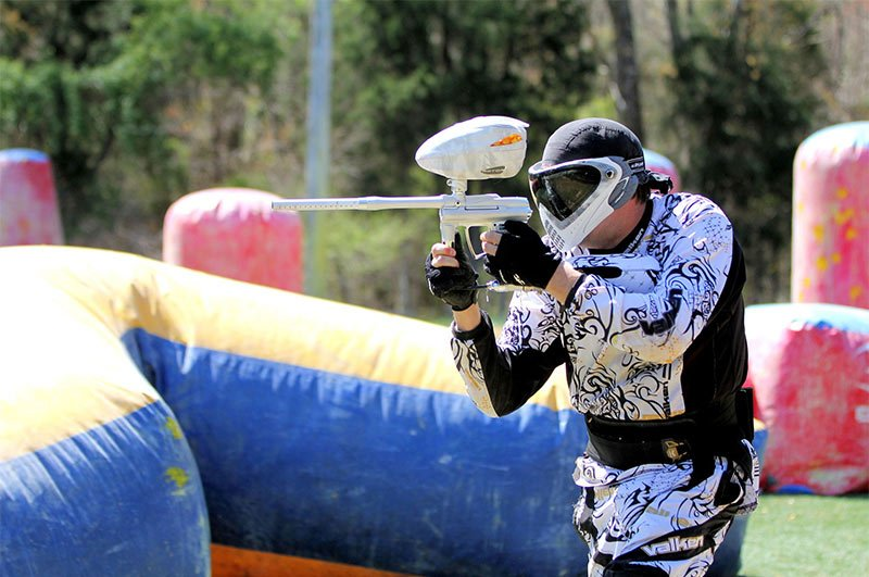 outdoor paintball in knightdale nc