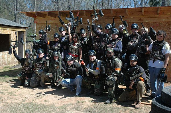 knightdale paintball